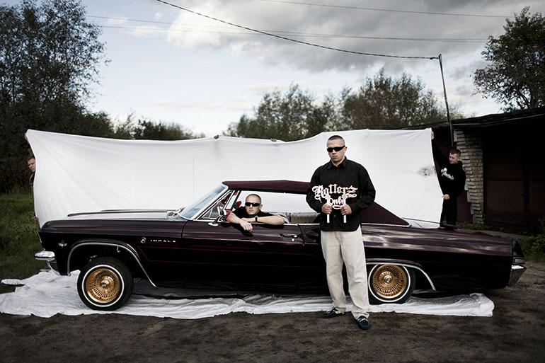Białostocki hip-hopowy zespół Non Koneksja. fot. Kuba Dąbrowski / dzięki uprzejmości autora