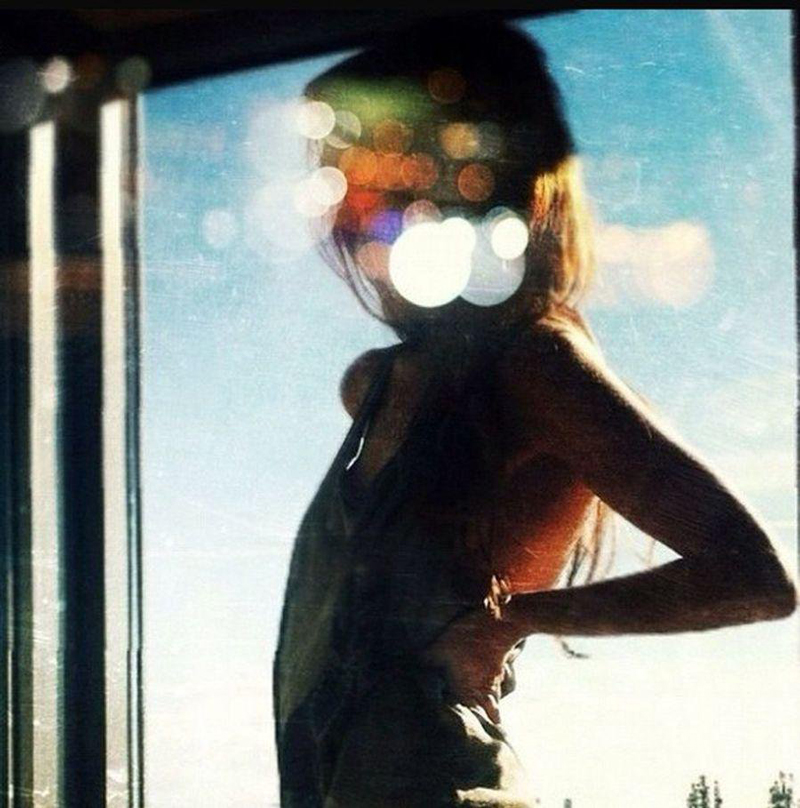 selfie by Klaudia Cechini, photo: courtesy of the artist
