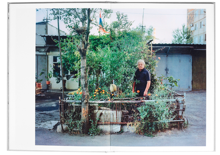 Inside the photobook The Gardener by Jan Brykczyński, photo: www.janbrykczynski.com