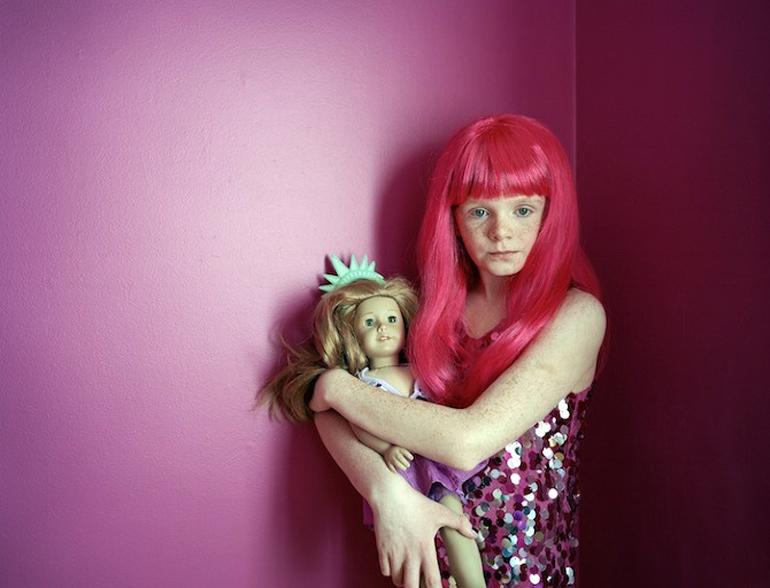 """Ilona Szwarc, """"Kayla"""" fotografia z cyklu """"American Girls"""", 212, fot. dzięki uprzejmości fotografki"""