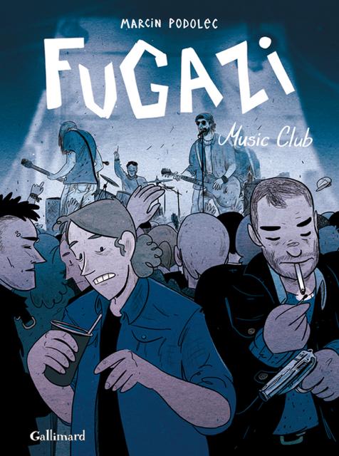 """Francuska okładka komiksu """"Fugazi"""" Marcina Podolca, fot. materiały promocyjne"""