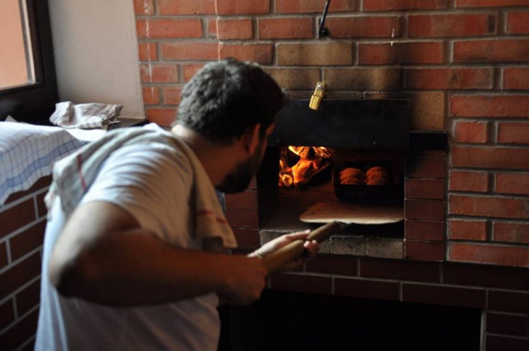 Maksut using a stone over to make sweet buns on rye dough, photo: IAM
