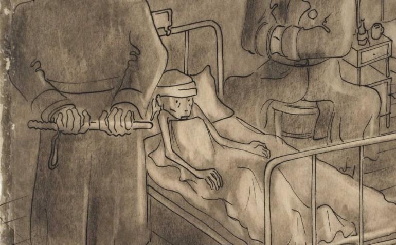 Розенфельд «Хаимке Штаркман» [фрагмент]. Фото: Архив Рингельблюма / Еврейский исторический институт в Варшаве