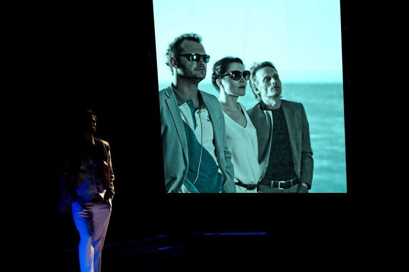 """Scene from """"Gatsby"""", photo by Krzysztof Bieliński, www.teatrpolski.pl"""