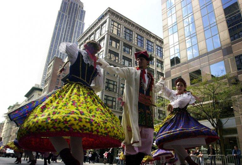 Pulaski Day Parade, photo: Jan Malec /Forum