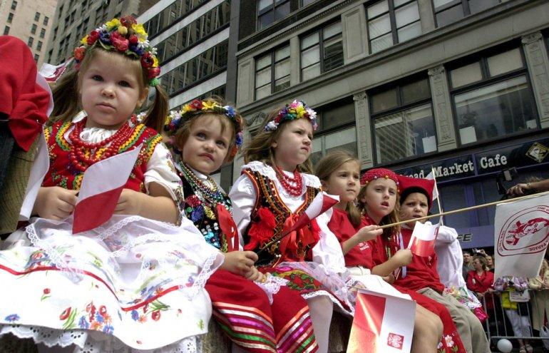 Pulaski Day Parade, photo: Jan Malec / Forum