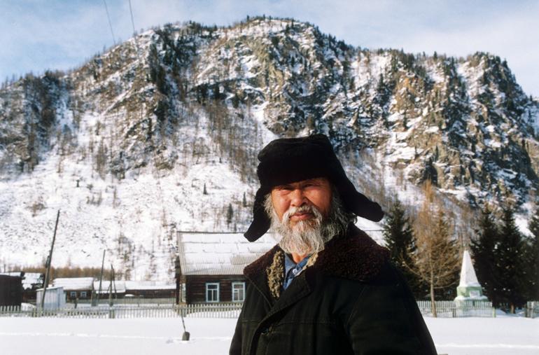 Współczesna Syberia. Jeden z Tofalarów - najmniejszej grupy etnicznej w Rosji, żyjącej w obwodzie irkuckim. Według spisu ludności sprzed 4 lat jest ich 654, fot. Laski Diffusion / East News