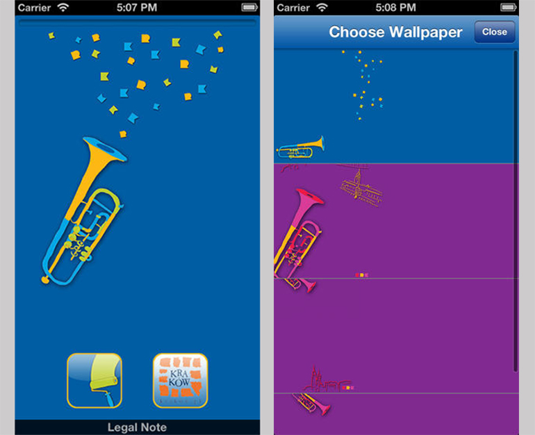 Play The Bugle Call iPhone screenshots, photo: promotional materials