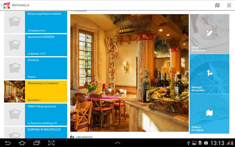 MyKRK screenshot, photo: promotional materials