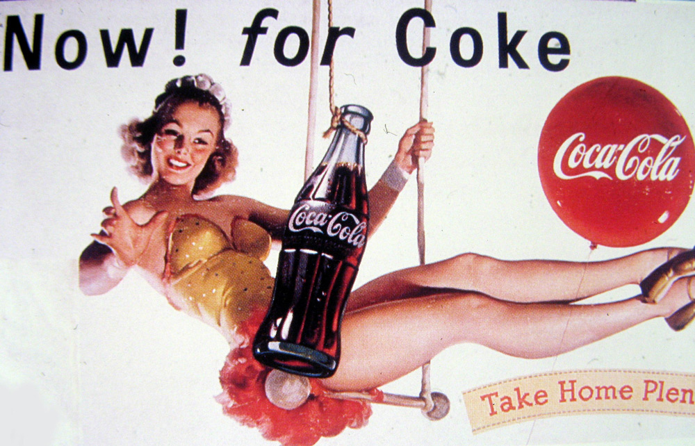 Coca Cola's archival commercial. Photo: Polaris / East News
