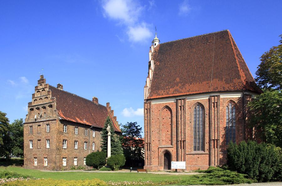 Kościół NMP: Ostrów Tumski / Poznań, 2011, Psałteria i Kościół NMP. fot. Marek Maruszak/FORUM