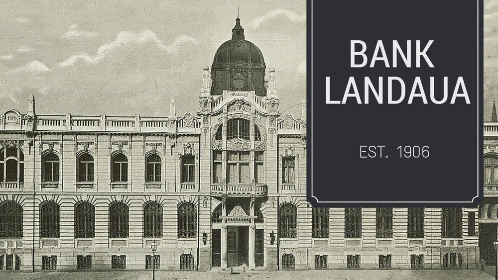 Landau Bank, photo: Escape Room Bank