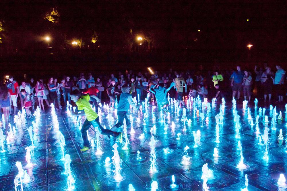 Opening of the Warsaw Multimedia Fountain, photo: Waldek Sosnowski / Forum
