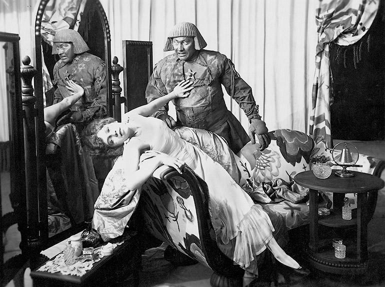 "Paul Wegener and Lyda Salmonova in the film ""Der Golem"", 1915, photo: Forum"