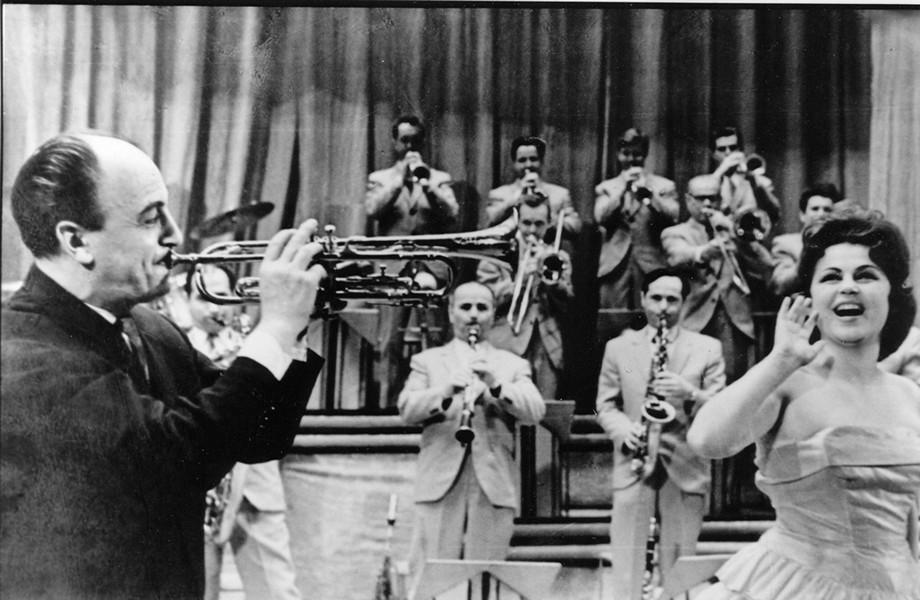 Эдди Рознер со своим свинговым оркестром, фото: CC
