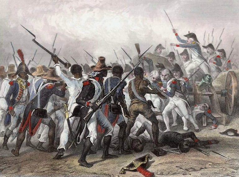 Scene of the Battle of Vertières during the Haitian Revolution, photo: CC / Wikimedia