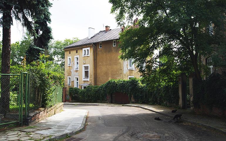 Gontyna Street, photo: CC / Wikimedia / user: Zygmunt Put