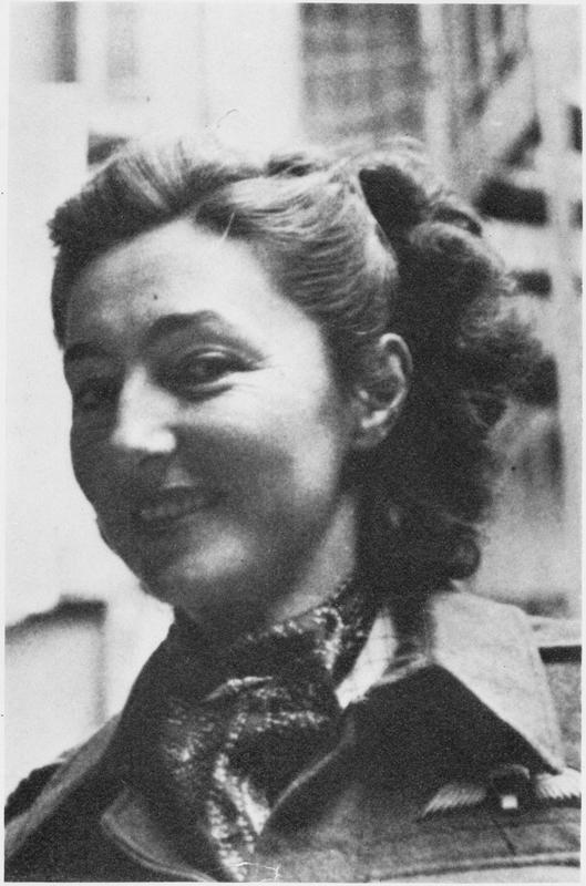 Christine Granville (Countess Krystyna Skarbek) in Algiers, 1944, photo: Imperial War Museum