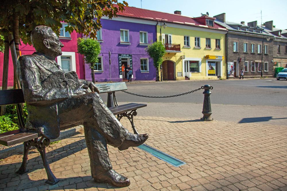 Ławeczka Józefa Mehoffera w Turku, fot. Wojciech Wójcik / Forum