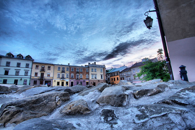 Old Town in Lublin, photo by Kristof Borkowski
