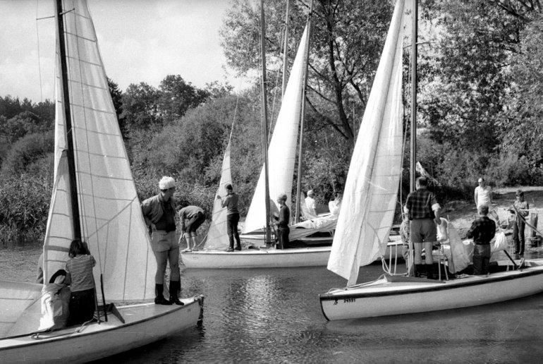 Mazury nad jeziorem Mokrym 1967, fot. Mirosław Stankiewicz/Forum