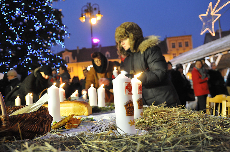 celebrating christmas eve in bydgoszcz 2011 photo pawea skraba reporter