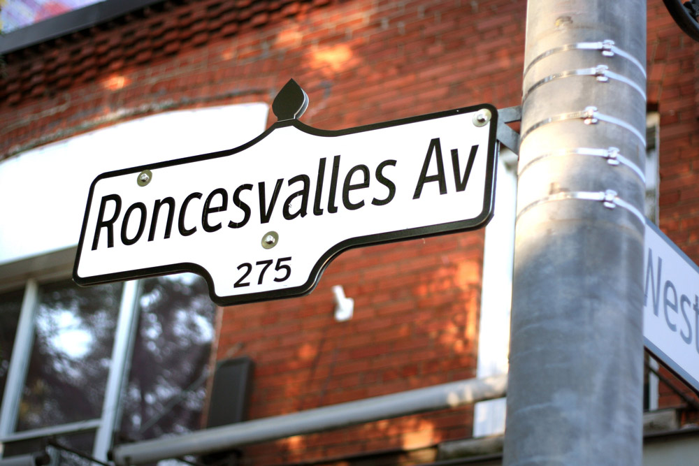 Toronto, Roncesvalles Avenue in the Polish part of the city. The famous Polish festival was named after this street, photo: Andrzej Grabowski / Reporter