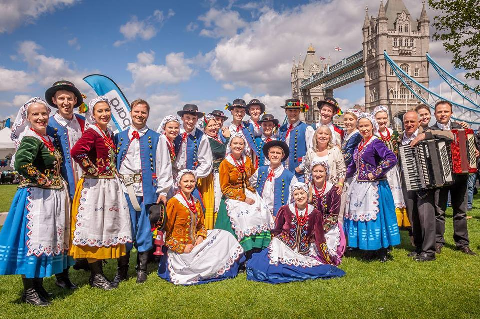 Orlęta - Polish Folk Song and Dance Group during Days of Poland in 2015. Photo: promotional materials
