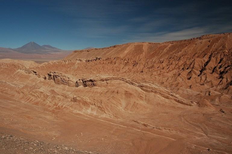 Cordillera de la Sal, part of Cordillera Domeyko; Photo: CC BY-SA 3.0