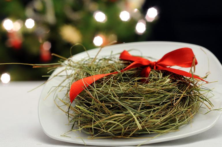 Christmas hay, photo: courtesy of  www.siankowigilijne.eu