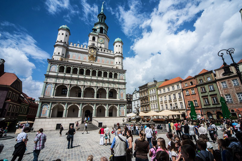 Poznań, Old Town, photo by Rafał Mieszka / East News