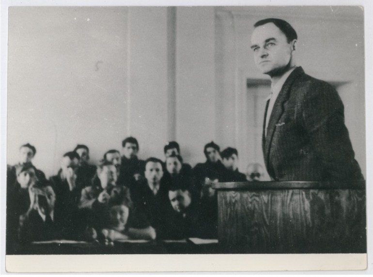 Witold Pilecki during the trial in 1947, photo: IPN
