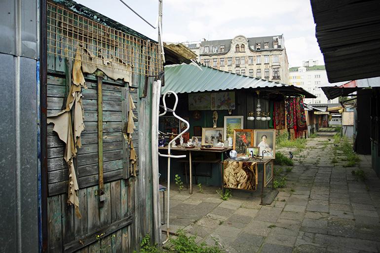 Bazar Różyckiego, Warszawa, fot. Krzysztof Żuczkowski / Forum