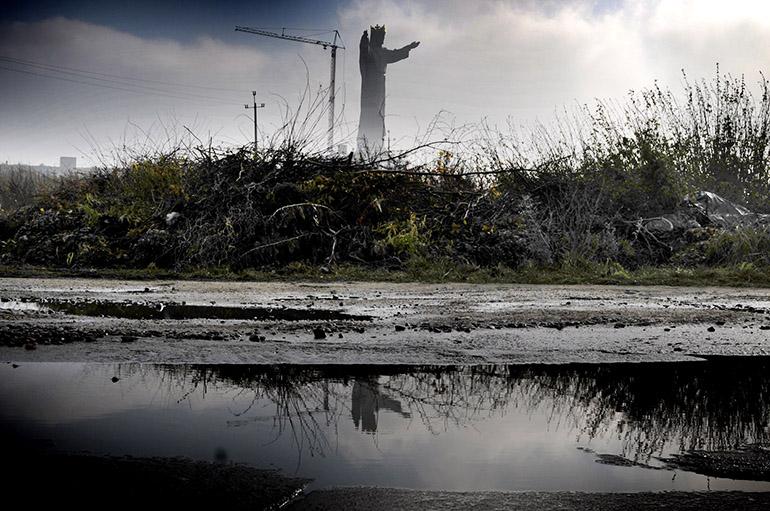 The world biggest monument of Jesus Christ the King (36m high), photo:. Bartlomiej Kudowicz / FORUM