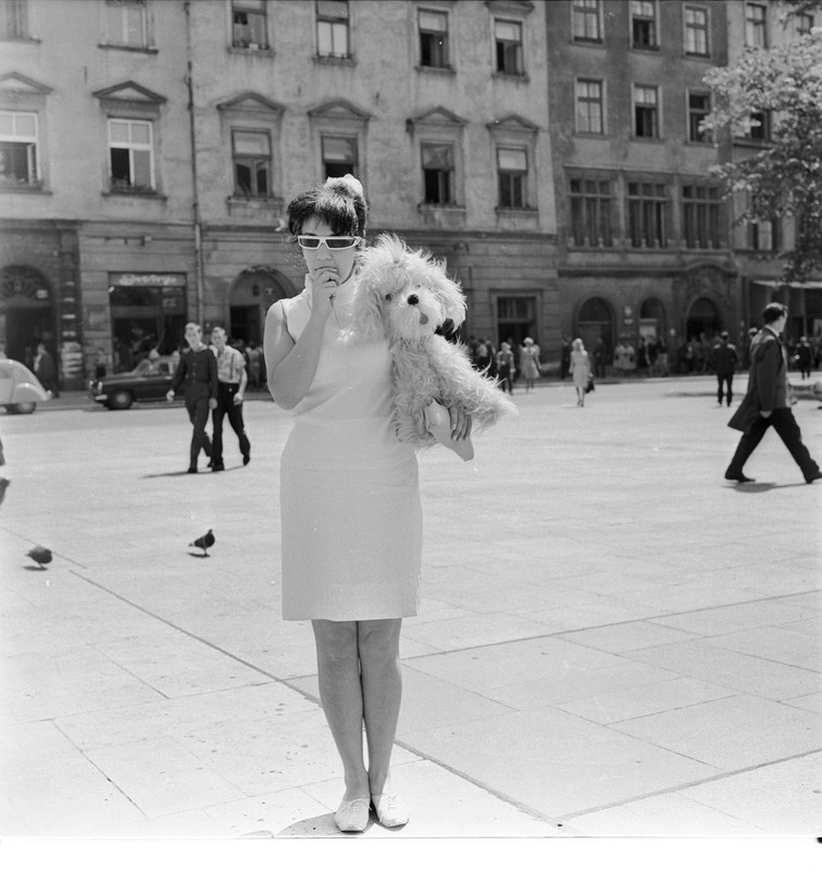 Ewa Demarczyk, 1967, fot. Harry Weinberg / Fotonova