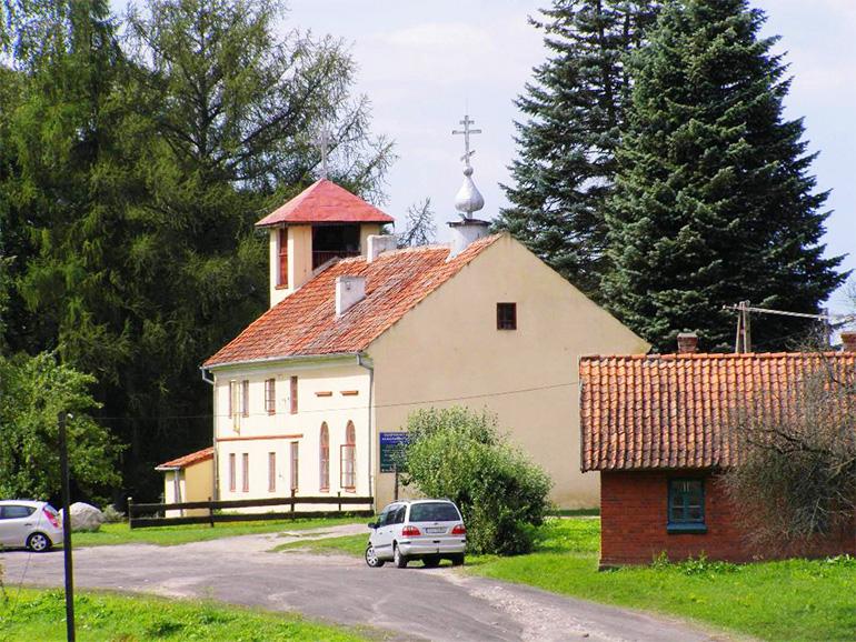 Zabytkowa cerkiew Starowierców w Wojnowie na Mazurach, 9.04.2007, fot. dzięki uprzejmości Marcina Frońskiego
