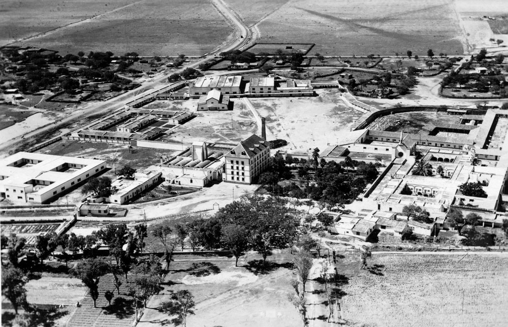 Hacienda de Santa Rosa, general view, 1943. Photo: Courtesy of Polish Embassy in Mexico