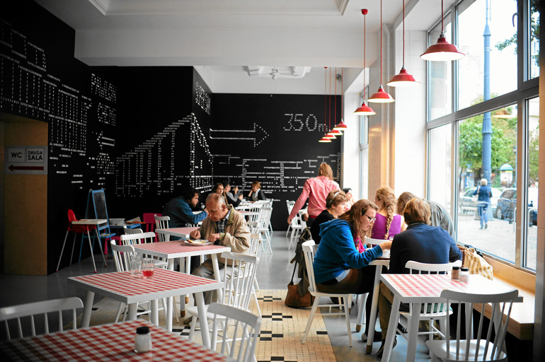 Bar prasowy, the most famous milk bar i Warsaw, photo: Adam Stępień / Agencja Gazeta