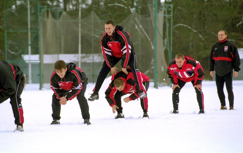 Spała, the national bobsled team trains at the Olympic Sports Centre, photo: Krzysztof Jarczewski / Forum