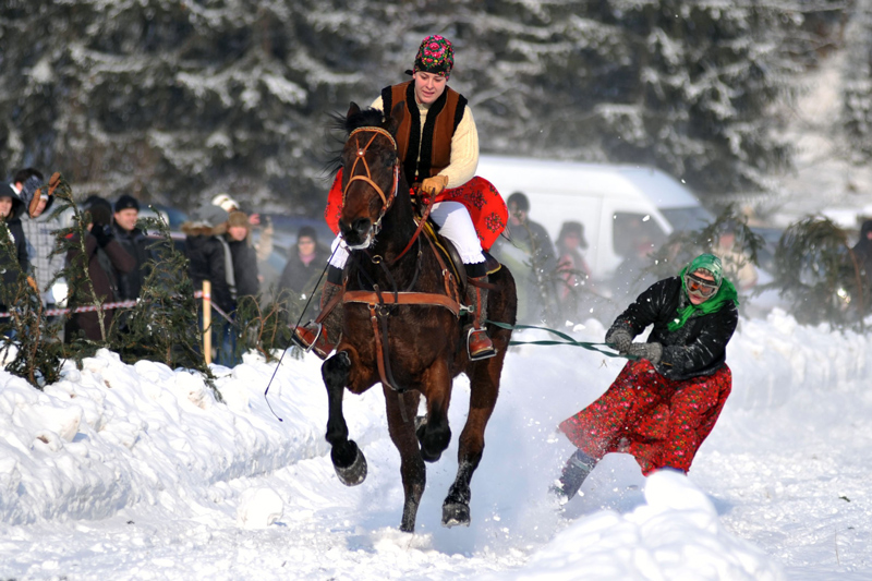 Zakopane, a traditional highlander competition known as a Parada Gazdowska, photo: Adrian Gladecki / Reporter