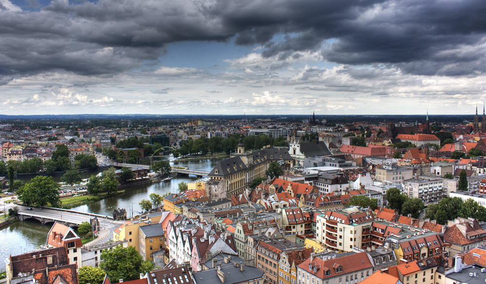 Panorama of Wrocław, photo: Klearchos Kapoutsis