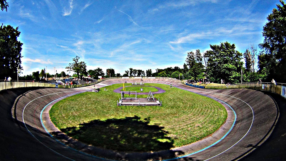 Velodrome in Wrocław. Photo: Rafał Berg