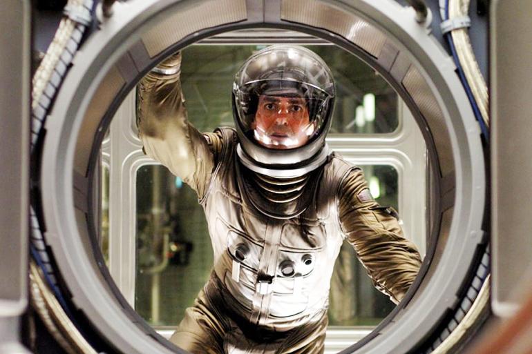 George Clooney in Steven Soderbergh's movie based on Stanisław Lem's novel 'Solaris', photo: press release
