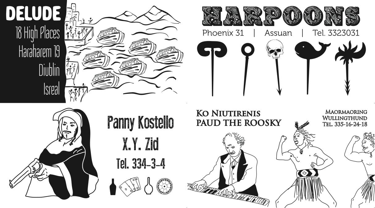 Finnegans Meet cards (selection); source: Bartnicki&Szmandra (Finnegans Meet)