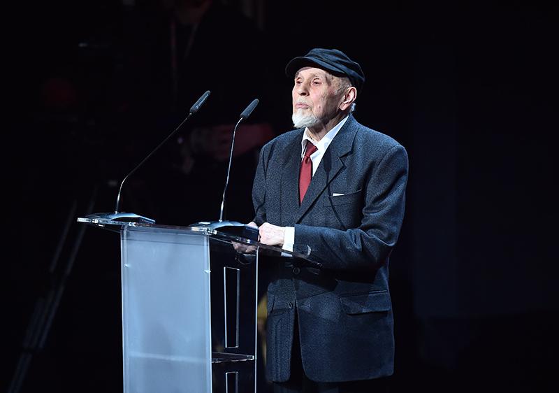 "Jan ""Ptaszyn"" Wróblewski, Paszport Polityki 2016 w kategorii ""Kreator kultury"", fot. Mateusz Jagielski / East News"