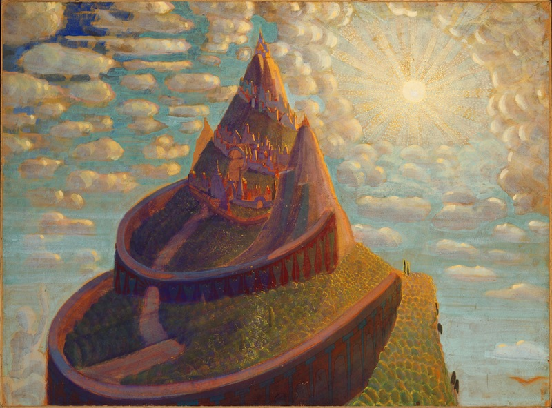 'Fairy Tale Castle' by M.K. Čiurlionis, source: ciurlionis.eu
