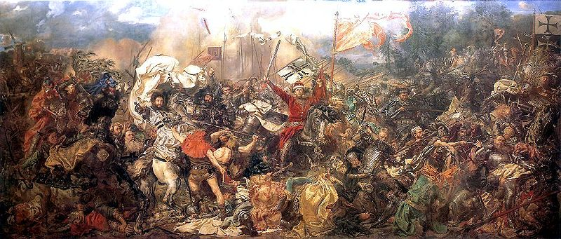 'The Battle of Grunwald' by Jan Matejko, 1878, oil on canvas, 426 x 987 cm, photo: National Museum in Warsaw