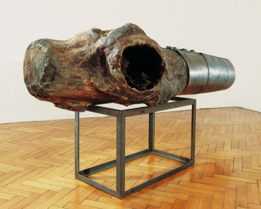 From the War Games series by M. Abakanowicz