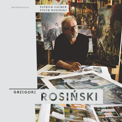 """""""Monografia. Grzegorz Rosiński"""", okładka"""