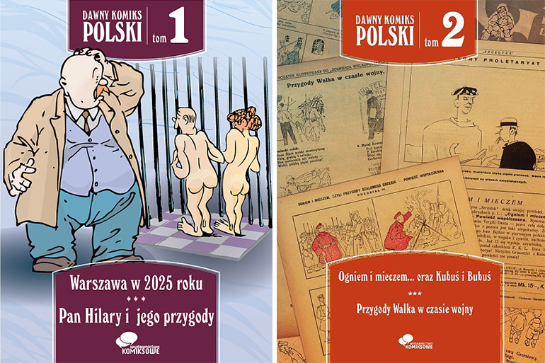 Covers of Dawny komiks polski, photo: press release